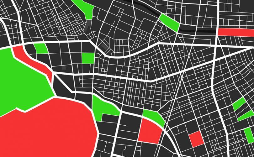 شناسایی شهرها از تصاویر ماهواره ای