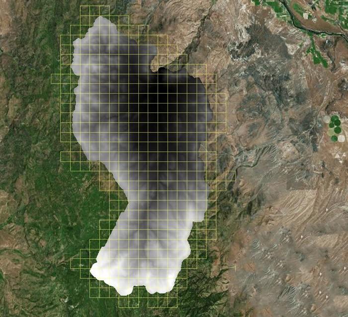 استخراج مدل رقومی ارتفاع از جنگل