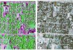 تطبیق رنگ تصاویر ماهواره ای در متلب