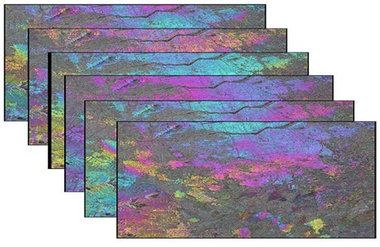 فایل های اینترفروگرام که اثر توپوگرافی از روی انها حذف شده (با فرمت dint)