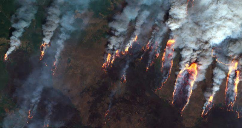 تحلیل آتش سوزی در ارسباران